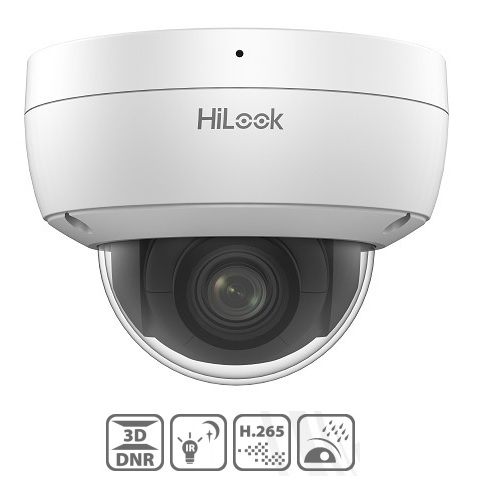 HiLook, IPC-D720H-Z[2.8~8mm], 2MP Network Dome Camera - 2.8~8mm
